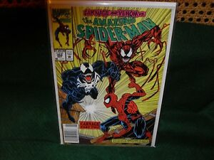 The Amazing Spider-man  #362 Carnage and Venom Cover 1992.  Very Good Condition
