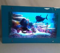 DISNEY Finding Nemo Moving Picture Light Motion Seascape Lamp with Ocean Sound