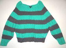 New Vans Womens Honeycomb Casual Knit Sweater Size Medium