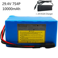 29V10AH Li-ion Battery Volt Rechargeable Bicycle 500W E Bike Electric + Charger