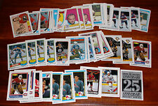 1992-93 O-Pee-Chee OPC 25th Anniversary. Reprints; Gretzky; Sittler; Bossy; Roy