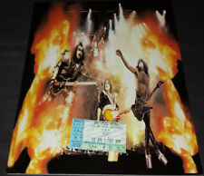 Kiss: 2000 farewell tour book/program + 1997 ticket stub