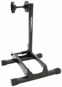 "Feedback Sports RAKK XL Display Stand - 1-Bike, Wheel Mount, 2.3-5"" Tire, Black"