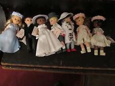 McDonalds Madame Alexander lot of 7 dolls Bride Groom Cruella more