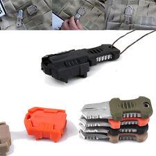 Mini Portable Outdoor EDC Pocket Knife MOLLE Webbing Survival Self Defence Tool