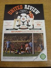 13/11/1982 Manchester United v Tottenham Hotspur  . Thanks for viewing our item,