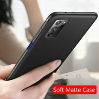 For Samsung Galaxy Note 20 S20 Ultra-Thin Matte Silicone TPU Back Case Cover