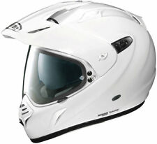 X-LITE X-551 GT GLOSS WHITE 003 ADV MOTORCYCLE HELMET - X-LARGE
