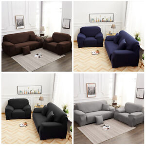 1 2 3 Seater Sofa Cover Stretch Recliner Cover Couch Elastic Slipcover Protector