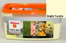 Alpina Color World 1 Liter bunte Wandfarbe Matt - Metallic 7 - 10m²
