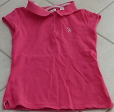1031 - Polo MC 8-10 ans OKAIDI rose fushia