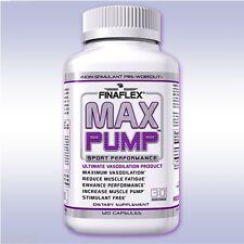 FINAFLEX MAX PUMP (120 CAPSULES) stimulant-free betaine no3 vasodilator muscle