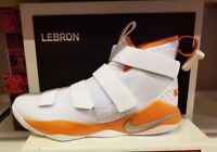 New Nike Lebron Soldier XI TB Promo White Basketball Shoes 943155-107 Mens 12
