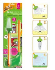STV THE BUZZ SPIDER CATCHER XL 1M LONG HANDLE HUMANE BUG INSECT CATCH & RELEASE