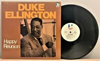 "🎹 "" HAPPY REUNION "":  Duke Ellington:  Doctor Jazz # FW 50030 - 1985:  NM- 🎹"