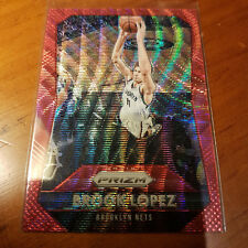 2015-16 Panini Prizm RUBY WAVE PRIZMS #188 Brook Lopez #/350