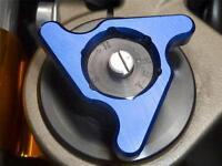 Tenedor Pre Reguladores Azul 19MM Honda CBR1000RR 600RR CB1000R Mv Agusta F4 R S