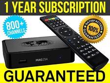 Mag 254w1 IPTV Set-Top Box Cable Box 1 Year Subscription Guaranteed - infomer