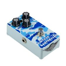 NEW Crossfire Vintage Compressor Electric Guitar Effects Pedal FX