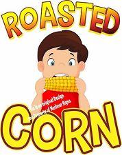 Roasted Corn Decal 24 Concession Cart Food Truck Restaurant Menu Sticker