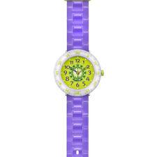Flik Flak Kinderuhr KIWI SHAKE FCSP017 Analog  Kunststoff Violett