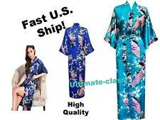 Kimono Silk Robe Japanese Bride Night dress Satin Wedding  Women Gown M – 3XL