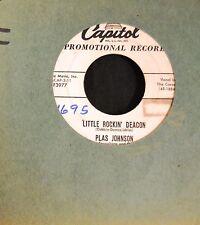 Plas Johnson Capitol 3977 Little Rockin' Deacon and Dinah