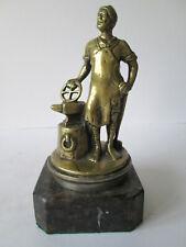 Vulcan blacksmith car mascot 1911-1920.vehicle mascot.Hood ornament.