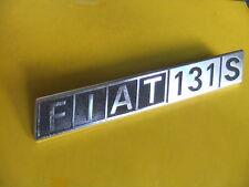 X STEMMA FIAT originale- BADGE EMBLEM - METALLO (f 0561) (S1)