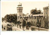 The Castle Cardiff Vintage Postcard O01