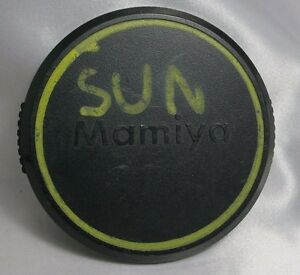 Mamiya 77mm snap-on Front Lens Cap - DAMAGED as is 2116008