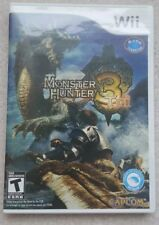 Monster Hunter Tri (Nintendo Wii, 2010) Complete w/ manual, Excellent condition
