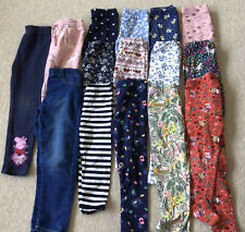 Girls Trousers Leggings age 4-5 large Bundle George, Tu