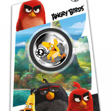 2019 Angry Birds Chuck coin Interactive Mobile Game app on coin!
