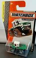 Matchbox MBX construction- ACRE MAKER TRACTOR UNIT 113/120 green/White Long Card