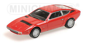 MINICHAMPS 437123224 Scale 1:43, Maserati Khamsin - 1977 - Red # New IN Boxed#