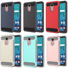 10pcs/lot Hybrid Rugged Armor Slim Tough Case ShockProof Cover for LG Stylo 4