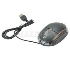 Kabelgebundene USB Optische Maus Mit Rad PC Laptop Computer Scrollen OURLOVE