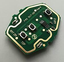 New BMW 3 5 Series E46 E39 EWS Key Remote Control Circuit Board 3 Button 433MHZ