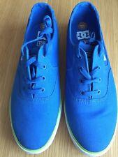 DC Zapatos para hombre Azul Zapatillas Low Top Tamaño: 42.5/8.5UK Nuevo