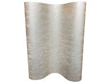 Vlies Tapete Uni Struktur einfarbig weiß gold metallic glanz 104955 Molten