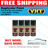 VHT / Duplicolor Paint VHT Roll Bar and Chassis * Satin Black * 4-Pack * SP671