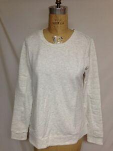 32 DEGREES Ladies' Soft Fleece Top TLF72593ME  Heather White M NWT Retail $46