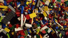 1 kg LEGO gemischt Konvolut Kilo Steine Platten Räder Basic + eine Figur