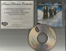 TRANS SIBERIAN ORCHESTRA RARE Stock #PRCD 301008 SAMPLER PROMO DJ CD single 2002