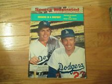 Bill Russell Claude Osteen LA Dodgers Baseball Sports Illustrated Aug 20 1973