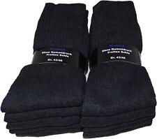10 Paar Herren Vollfrottee Socken Arbeitssocken anthrazit ohne Gummidruck  43-46
