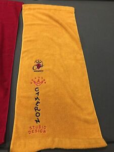 Scotty Cameron Member Studio Design Yellow Golf Towel