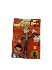 MR BEAN BENDABLE FIGURE A BEANY from NJ Croce Tiger Rare