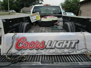 Vintage Coors Light Beer Hanging Pool Table/Bar Light